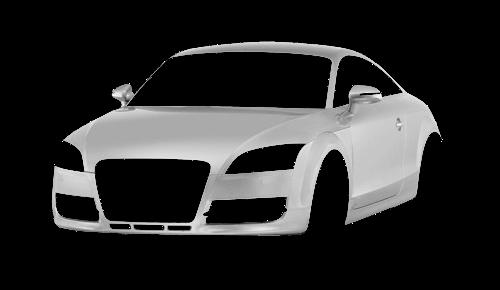 Цвета кузова TT Coupe